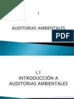 i.1 Introduccion Auditoría Ambiental