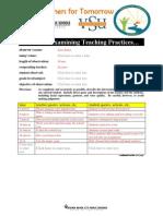 vsu educ 202 teacher-student interaction form
