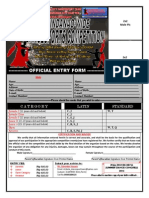02 - Competition Entry Form