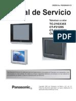 Panasonic Tc-21gx30x Ct-f2128s Ct-g1460mg Ct-f2121g Chassis Gl1