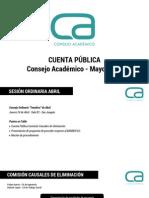 Cuenta Pública - Consejo Académico - Mayo.pdf