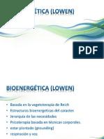 Bioenergética (Lowen)