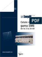 Celule de Medie Tensiune Gama SM6 (RO)