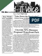 Ward II Voice - Vol 1, No 8
