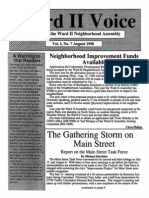 Ward II Voice - Vol 1, No 7 - August 1990
