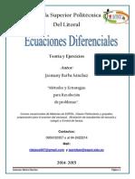 Folleto de Ecuaciones Diferenciales Firmado