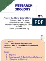 Asas Metodologi Penyelidikan