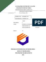 Laporan Praktikum Spektrofotometri Vis