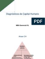 Diagnósticos de Capital Humano - MBAG XL