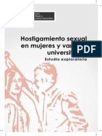 Hostig Sexual en Mujeres x Varones Univ