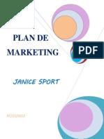 Plan de Marketing JANICE SPORT10.12.12