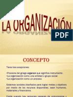 El Proceso de Organización