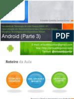 Android - Aula 3 - Dispositvos Móveis