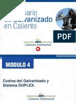 Taller Formativo de Galvanización Por Inmersión en Caliente - Módulo 4.