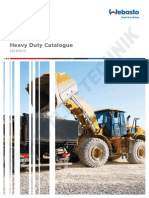 Webasto Heavy Duty Plant Machinery Catalogue