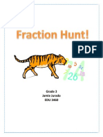 fraction webquest