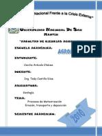 Informe de Geologia Maceda