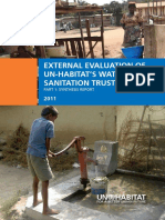 External Evaluation of UN-HABITAT's Water and Sanitation Trust Fund - Part 1