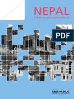Nepal Urban Housing Sector Profile