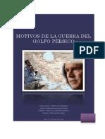 Motivos de La Guerra Del Golfo Pérsico