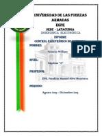 Caracteristicas Motor - Variador
