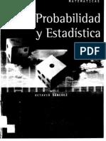 Probabilidad y Estadística - Octavio Sánchez