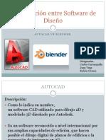 Comparación Entre Software de Diseño