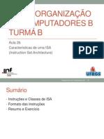 02b Caracteristicas ISA