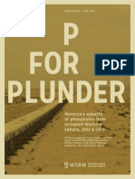 P for Plunder - 2012, 2013