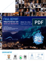 World Water Day 2011 Water and Urbanization