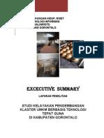 Executive Summary Klaster Umkm