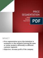 Price Segmentation