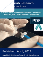Worldwide Cervical Cancer Test (Screening) Population Share, Market Share & Forecast