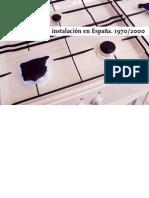 Mónica Sánchez Argilés - La Instalacion en España - 1970 - 2000