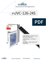 Solar Refrigerator Specs