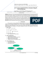 A Study on AT and C Losses Control in Power System Using D-FACTS Devices