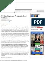 US Kids Represent Psychiatric Drug Goldmine