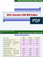 BHEL Standard 500 MW Boilers