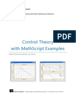 Control Theory With MathScript Examples