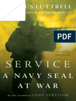 Service a Navy SEAL at War - Luttrell, Marcus
