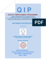 Qip Brochure 2014-15 PhD