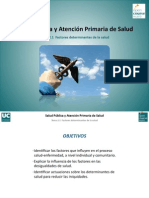 ANALISIS Factores Determinantes Salud