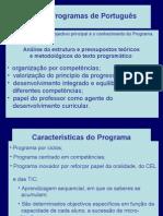 Novos Programas de Português-Power point