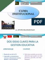 Clima Institucional 2007