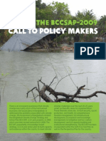 Revisit the BCCSAP 2009-Call to Policy Makers