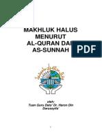 Makhluk Halus Menurut Al-quran Dan as-sunnah E-book