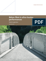 Beton Fibre a Ultra-hautes Performances