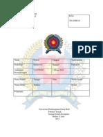 Laporan Praktikum Komputer Grafik
