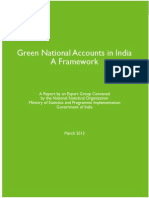 Green National Accouts in India