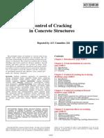 ACI 224R_90 Control of Cracking in Concrete